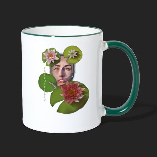Friluftsliv L'art de se connecter avec la nature - Mug contrasté