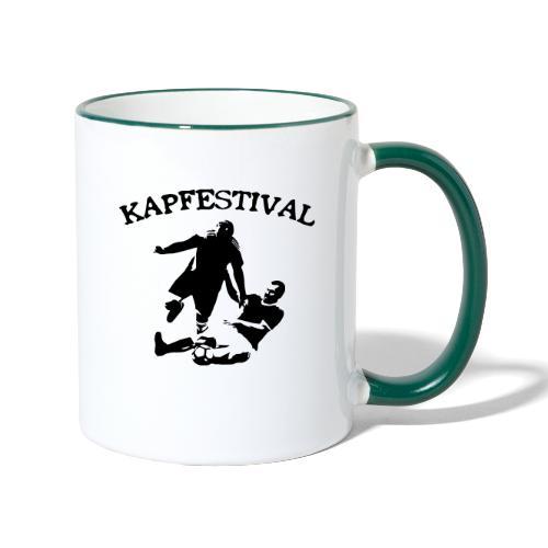Kapfestival - Tvåfärgad mugg
