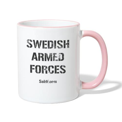 Swedish Armed Forces - Tvåfärgad mugg