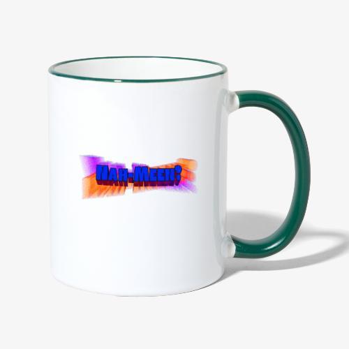Nah meen blue - Contrasting Mug