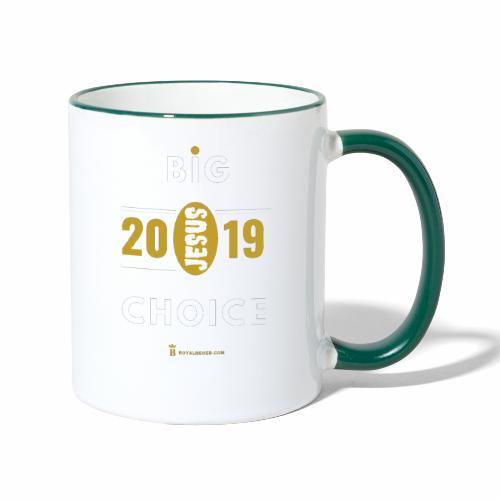2019 Choice - Mug contrasté