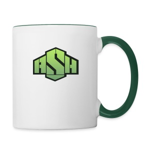 SxAshHowl,s Youtube merch - Contrasting Mug