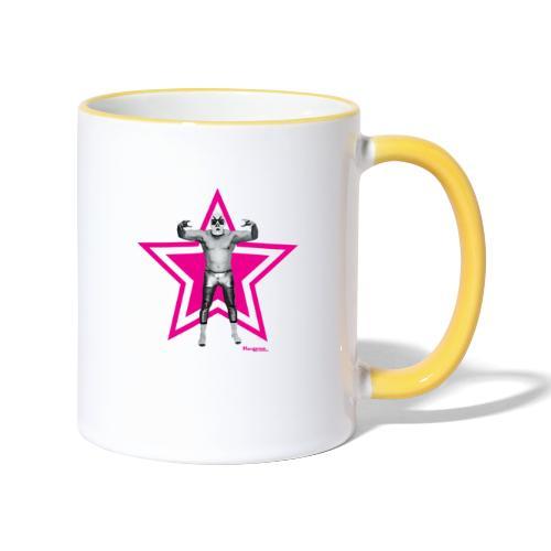 Hazy Logo - Tasse zweifarbig