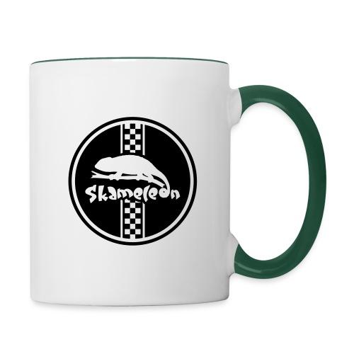 skameleon Logo - Tasse zweifarbig