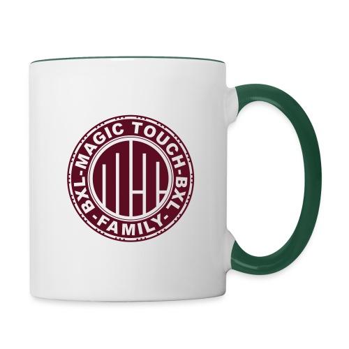 magic touch circle2 - Contrasting Mug
