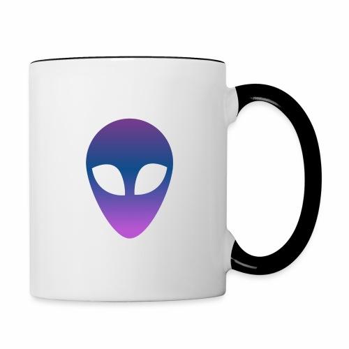 Aliens - Taza en dos colores