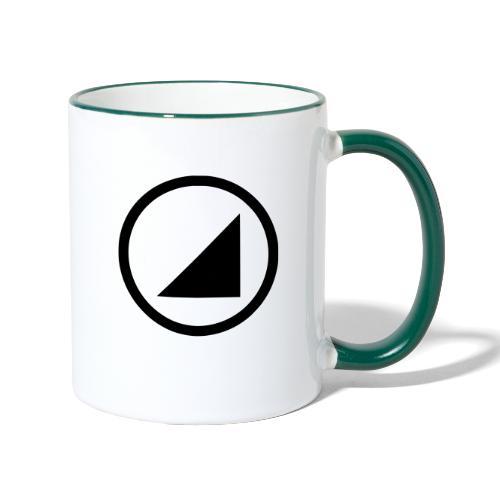 bulgebull dark brand - Contrasting Mug
