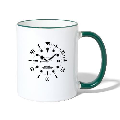 Submarine Luxury Watch Dial Details - Contrasting Mug