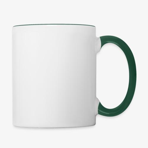 logo round w - Contrasting Mug