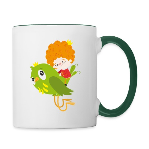 Nando flying - Contrasting Mug