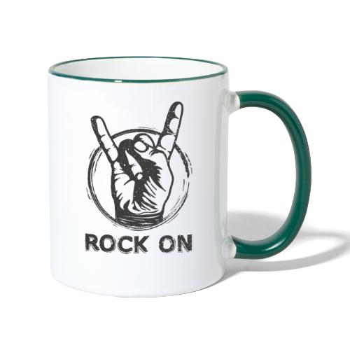 Rock On - Tvåfärgad mugg