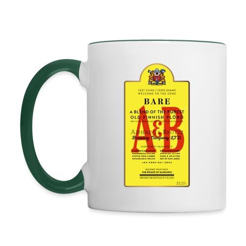 A&B • BOTTLE (2 print: front & back) - Kaksivärinen muki