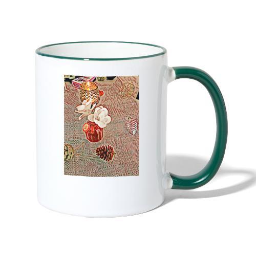 Bonheur - Mug contrasté
