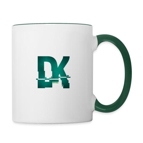 Dk hacked logo tshirt - Mug contrasté