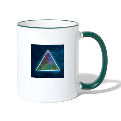 Galaxie triangle - Mug contrasté