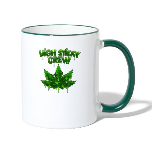 HIGH STICKY CREW - Collector - Mug contrasté