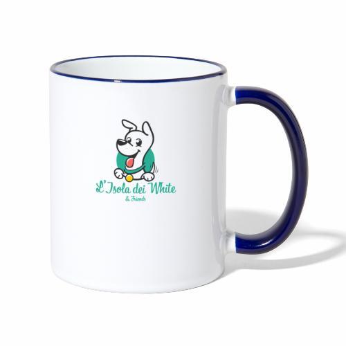 Logo L'Isola dei White & Friends - Tazze bicolor