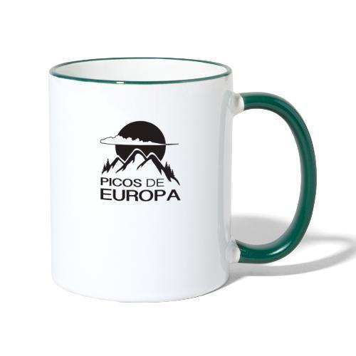 Picos de Europa - Taza en dos colores
