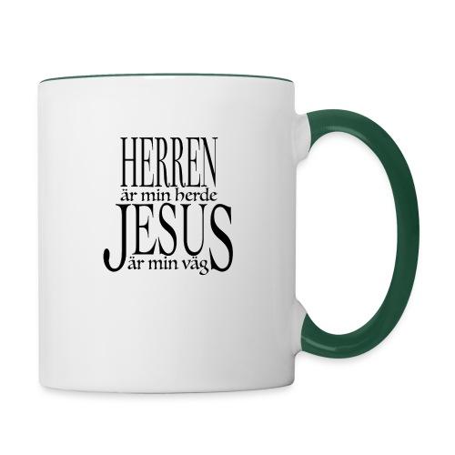 Herren är min Herde - Tvåfärgad mugg