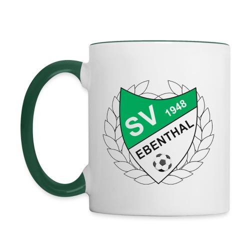 SV Ebenthal Logo - Tasse zweifarbig