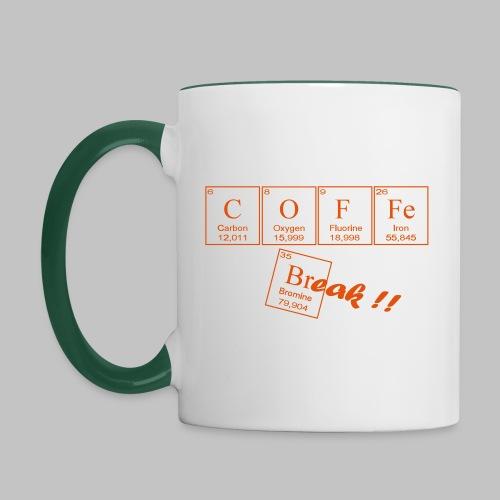 Coffee Break - Contrasting Mug