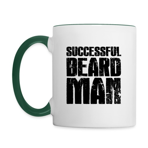 Successful Beard Man - Mug contrasté