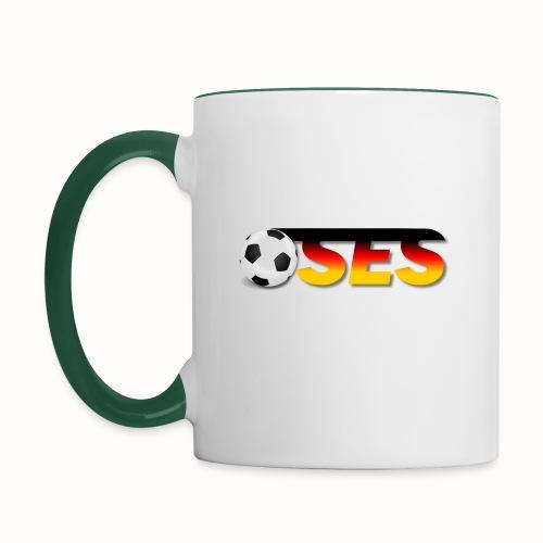 OSES Socker Txt - Tasse zweifarbig