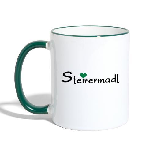 Steirermadl - Tasse zweifarbig