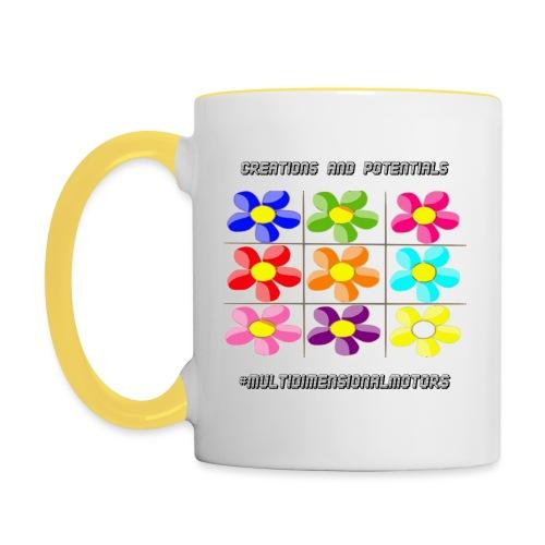 logo of my #MultiDimensionalMotors blog - Tazze bicolor