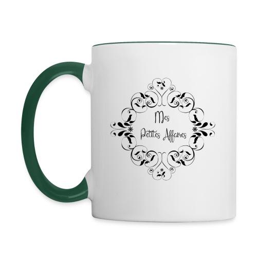 mes petites affaires - Mug contrasté