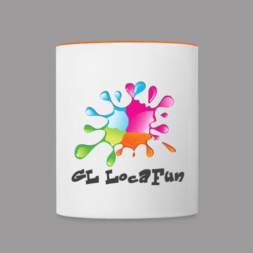 LOGO GL LOCAFUN SANS FOND png - Mug contrasté