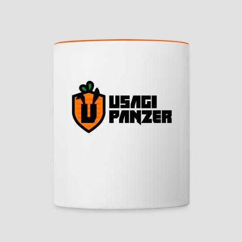 Usagi Panzer logo - Contrasting Mug
