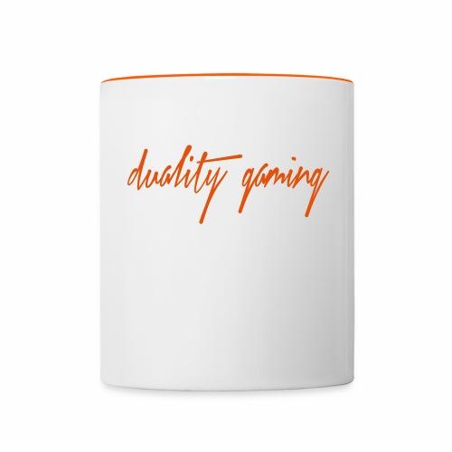duality gamingtext - Tvåfärgad mugg