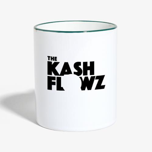 The Kash Flowz Official Black - Mug contrasté