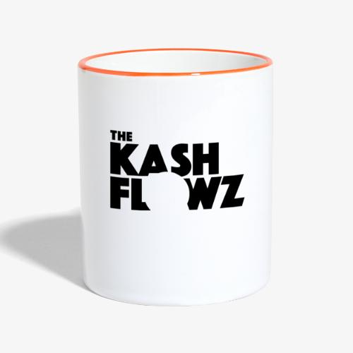 The Kash Flowz Official Black - Mug contrasté