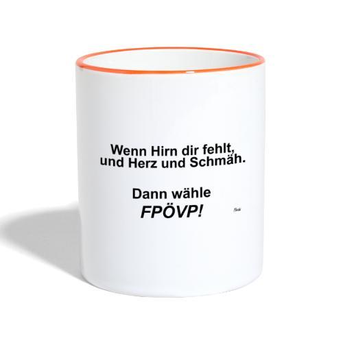 FPOeVP - Tasse zweifarbig