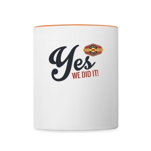 YES-we - Tasse zweifarbig