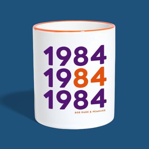 Bob Rage & Peanuke 1984 - Tazze bicolor