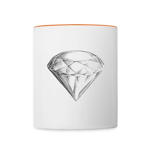 Diamond - Tasse zweifarbig