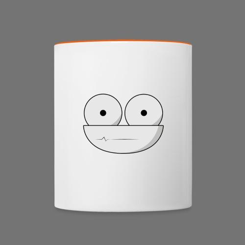 Alive Face Design - Contrasting Mug