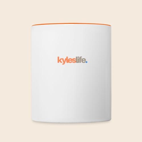 KylesLife. Official Merch - Contrasting Mug