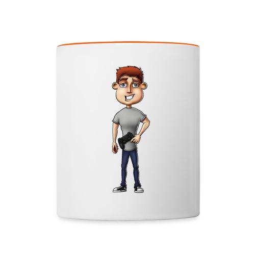 Olli43 Character png - Contrasting Mug