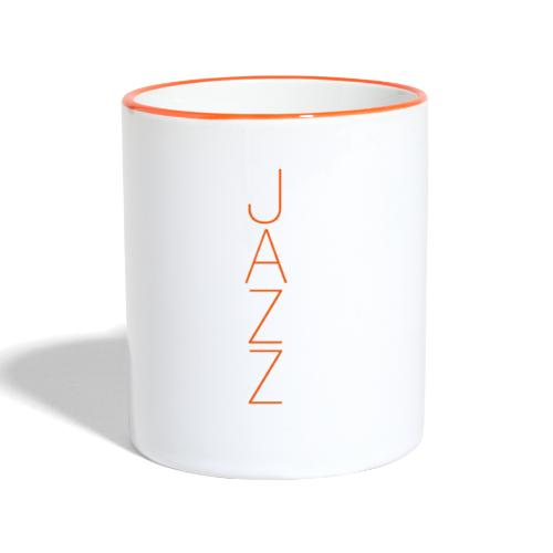 Jazz Tree - Taza en dos colores