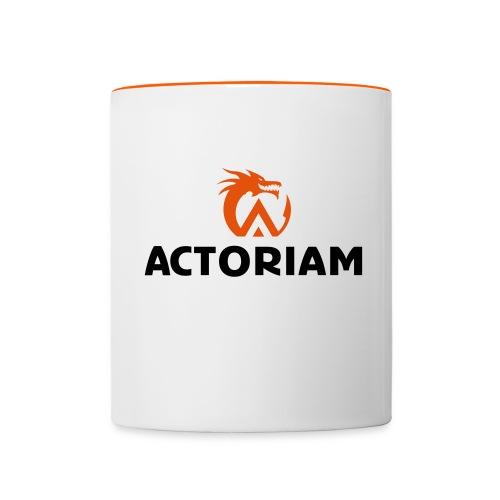 Actoriam Logo - Contrasting Mug