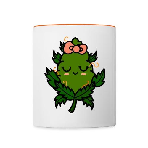 Ms. Weed Nug - Taza en dos colores