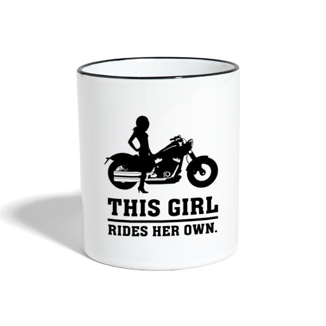 This Girl rides her own - Custom bike
