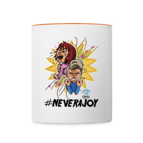#neverajoy - Tazze bicolor