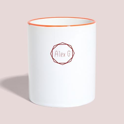 Red Logo - Contrasting Mug