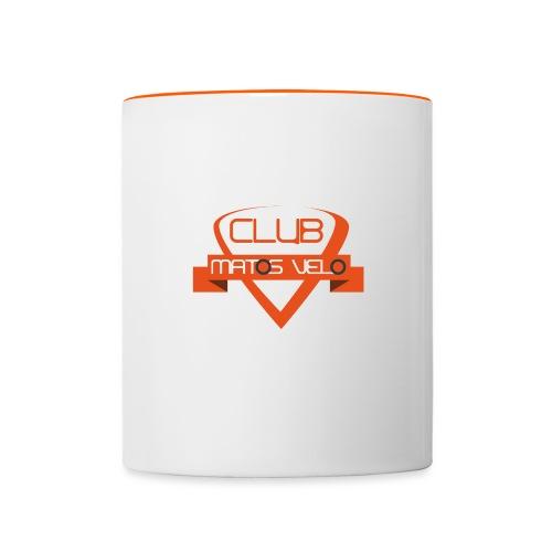 club orange png - Mug contrasté