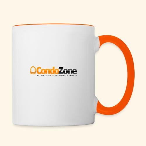 logo_condozone+bottom-lin - Mug contrasté